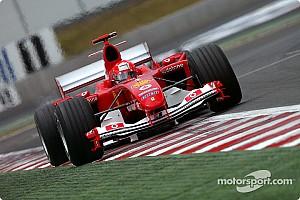 Формула 1 Ностальгія 13 років тому: Міхаель Шумахер виграв Гран Прі Франції з чотирма піт-стопами