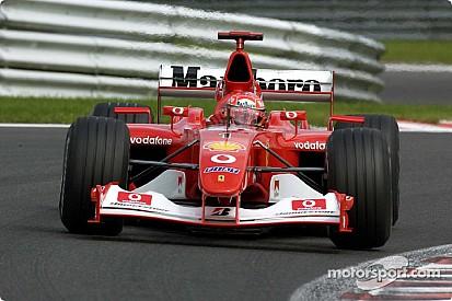 F1-Legenden: Ferrari F2002