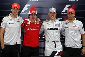 Formule 1 Diaporama Diaporama - Les pilotes aux 200 départs en Grand Prix