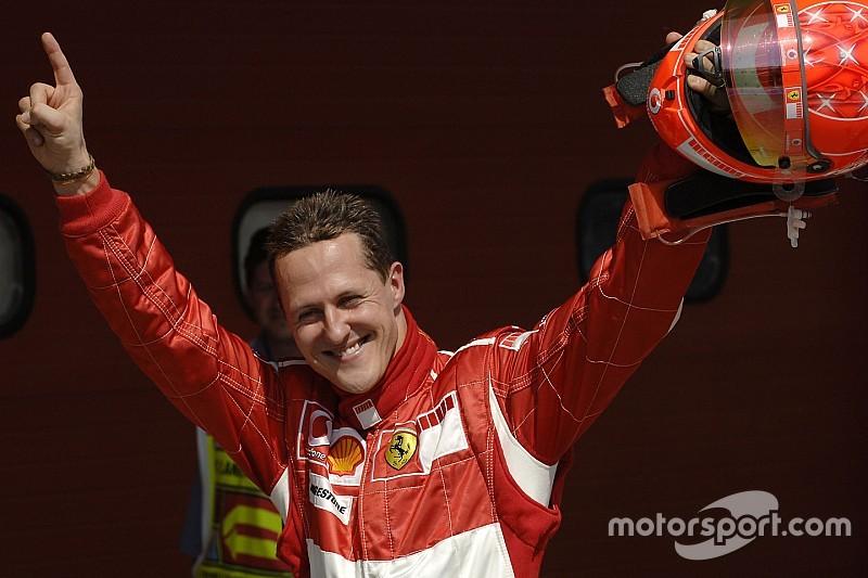 VÍDEO: Ferrari homenageia Schumacher em celebração