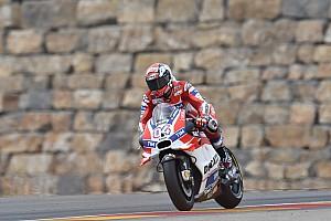 MotoGP Últimas notícias Dovizioso: Não vencer em Aragón dificulta luta pelo título