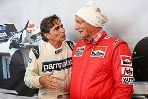 F1 Artículo especial Nelson Piquet relata la importancia de Niki Lauda en su carrera