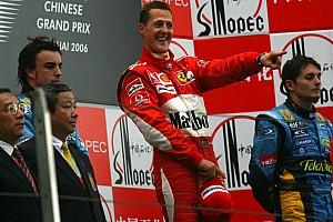 Формула 1 Ностальгія Галерея: остання перемога Міхаеля Шумахера 11 років тому