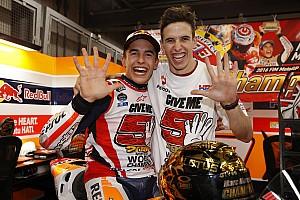 Marquez impikan satu tim dengan adiknya