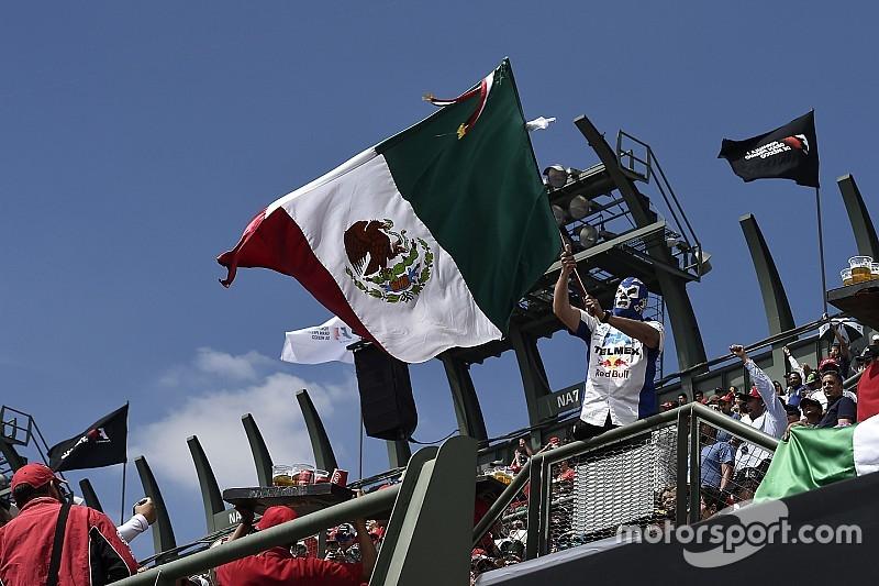 Гран Прі Мексики: перші контейнери вже прибули