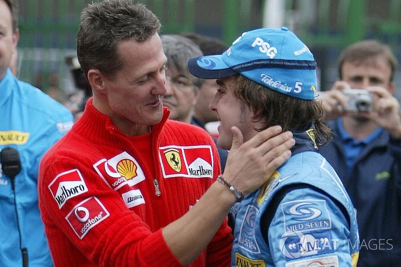 Alonso, Schumacher'i ve eski pilotları özlüyor