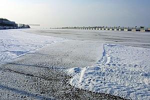 Трасу Спа-Франкоршам засипало снігом