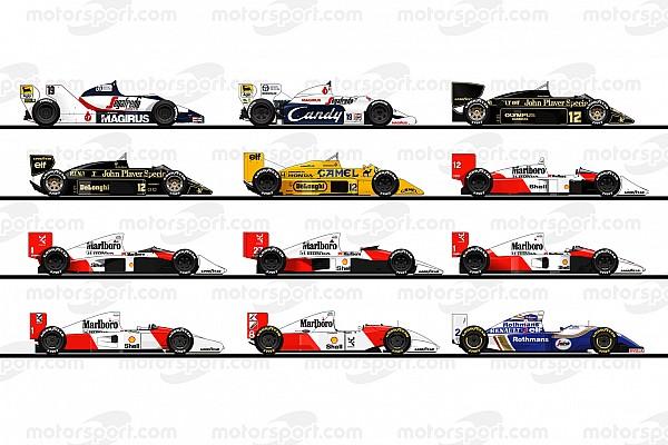 Formula 1 Nostalgia GALERI: Ilustrasi semua mobil F1 Ayrton Senna