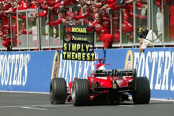 In beeld: De 49 mooiste foto's van Michael Schumacher