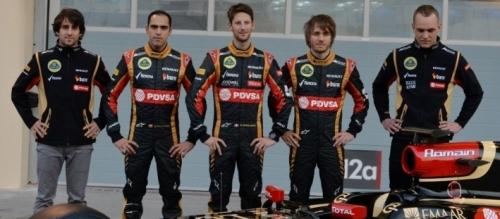 Состав пилотов Lotus на сезон 2014