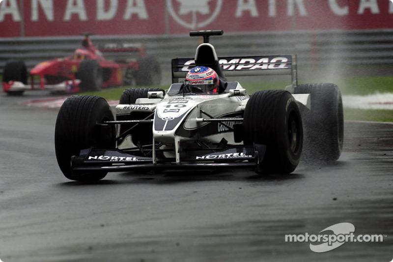 Ahora ya es un aguacero: Jenson Button