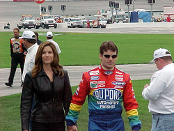 Brook et Jeff Gordon
