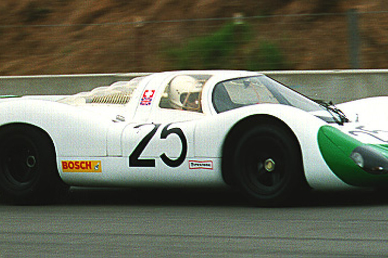 1969 Porsche 908 Coupe - Siffert/Redman (between turns 2 & 3)