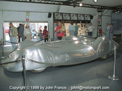 1937 Auto Union V16 Type C Streamliner