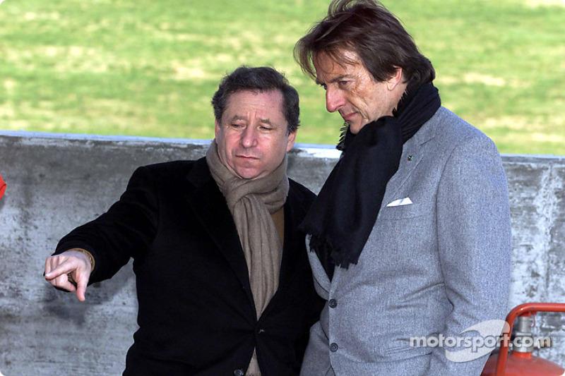 Jean Todt y Luca di Montezemelo