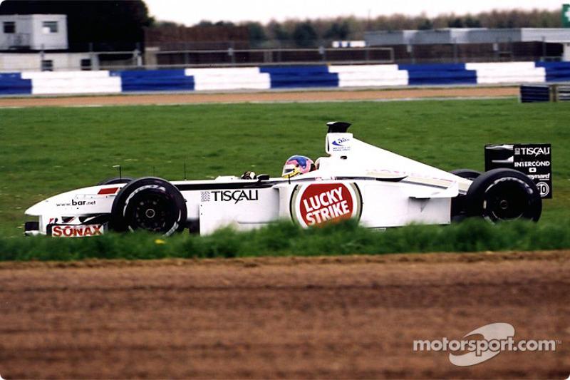 Jacques Villeneuve in Luffield