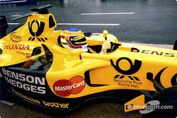 Jarno Trulli in the pits