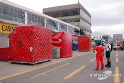 Ferrari crates