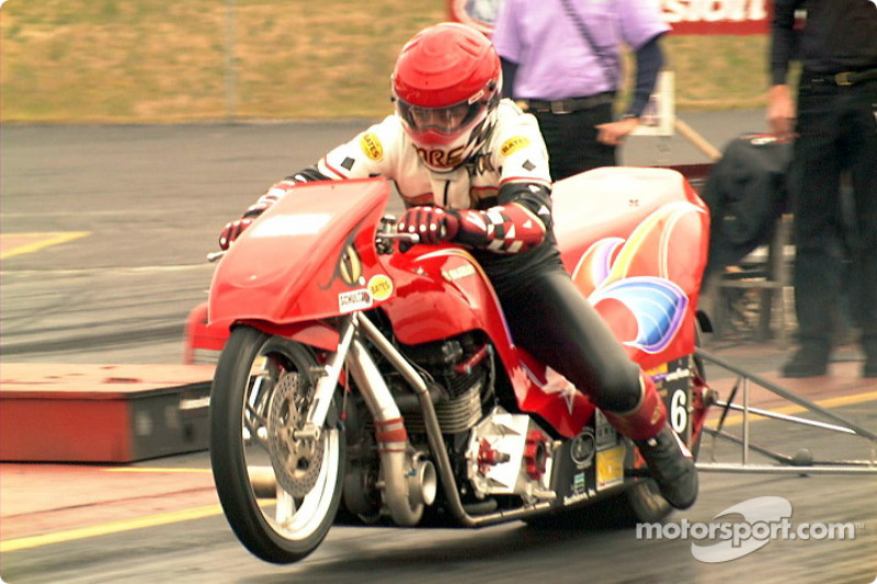 Tom Perry Funny Bike At Prostar Drag Bikes