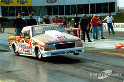 John Lingenfelter launches his GMC Sonoma Pro Stock Truck