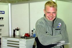 El piloto de Panoz Motor Sports, Jan Magnussen