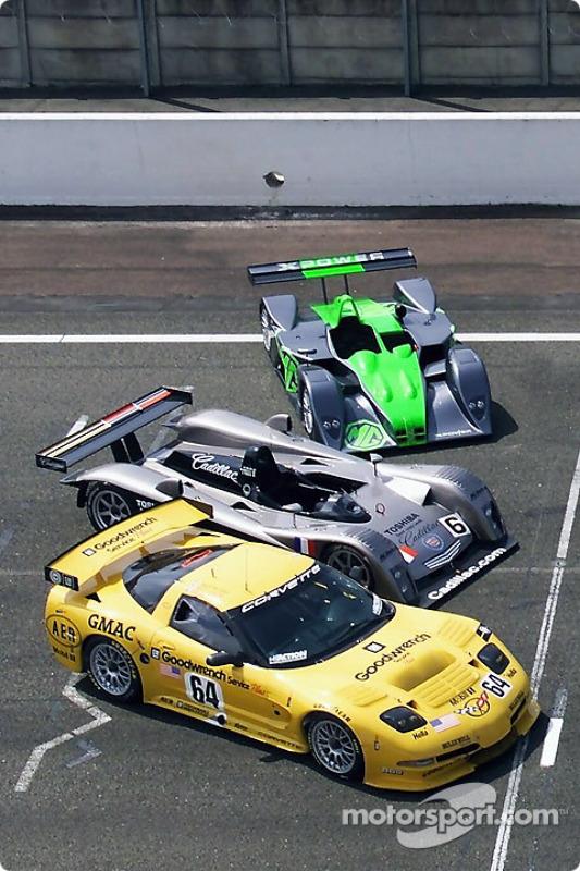 Chevrolet, Cadillac and MG