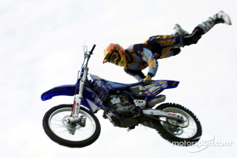 Pepsi fun day motocross acrobatics