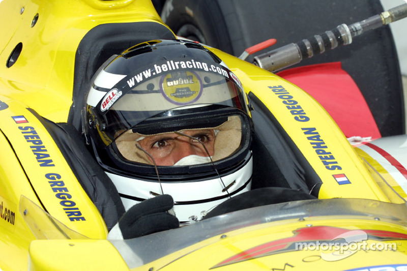 Roberto Guerrero, in the 7T car of Stephan Gregoire