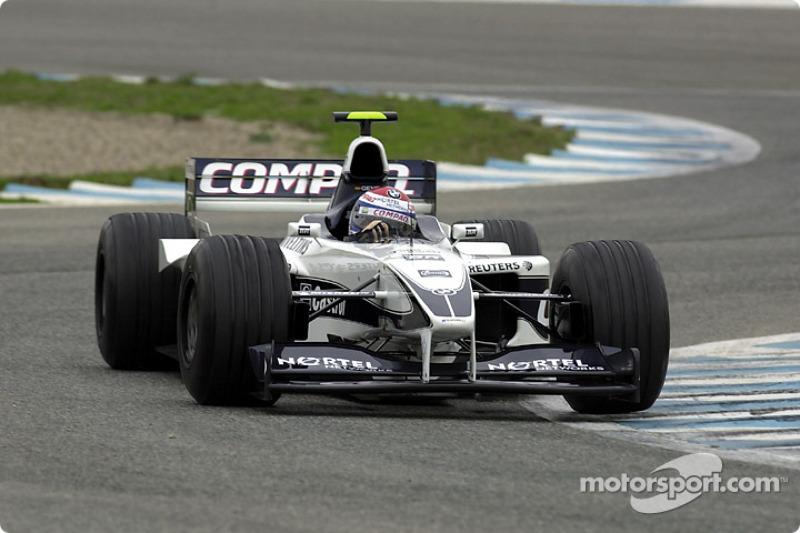 BMW WilliamsF1 Team test session, Jerez, Spain