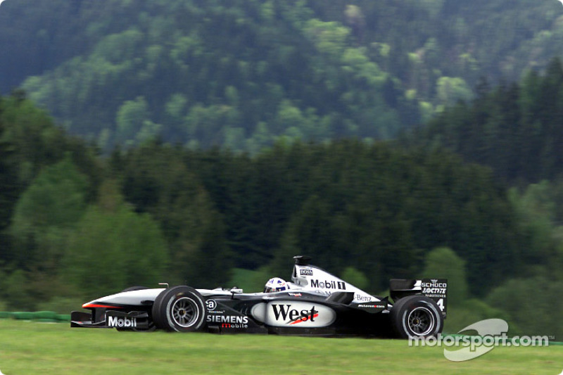 2001: David Coulthard, McLaren-Mercedes MP4-16