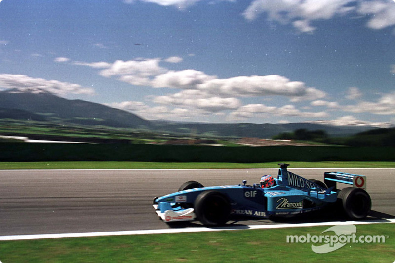 Jenson Button au GP d'Autriche