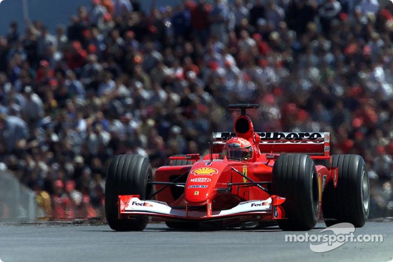 #37 GP d'Autriche 2001 (Ferrari F2001)
