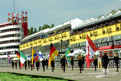 Flags on the pre-grid