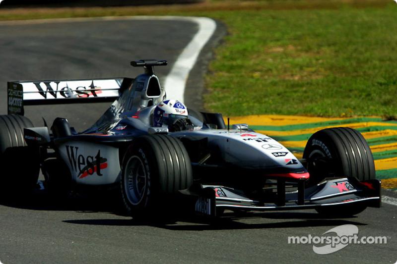2001. Інтерлагос. Переможець: Девід Култхард, McLaren MP4-16 Mercedes