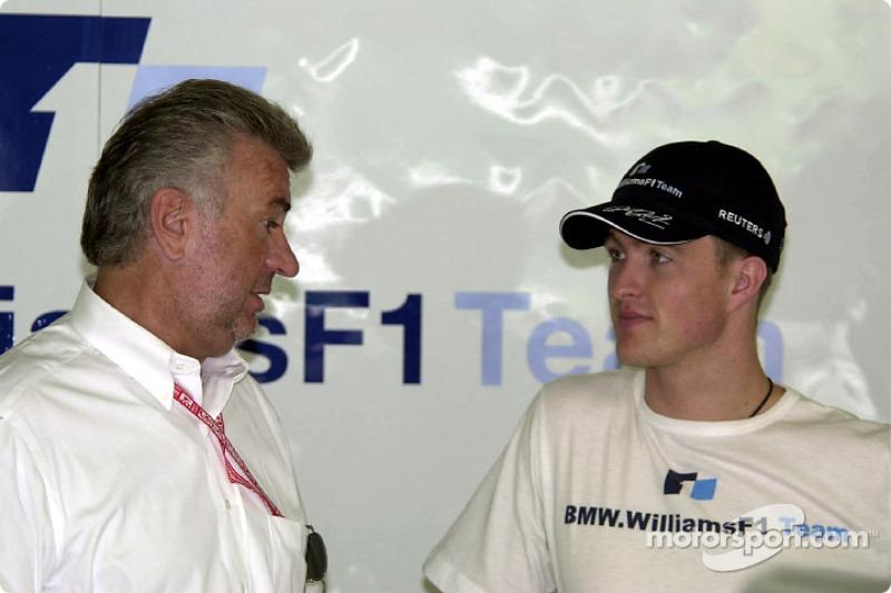 Willy Webber and Ralf Schumacher