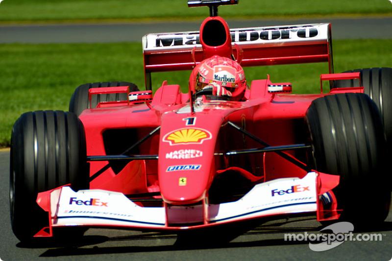 2001 Ausztrál GP - Ferrari F2001
