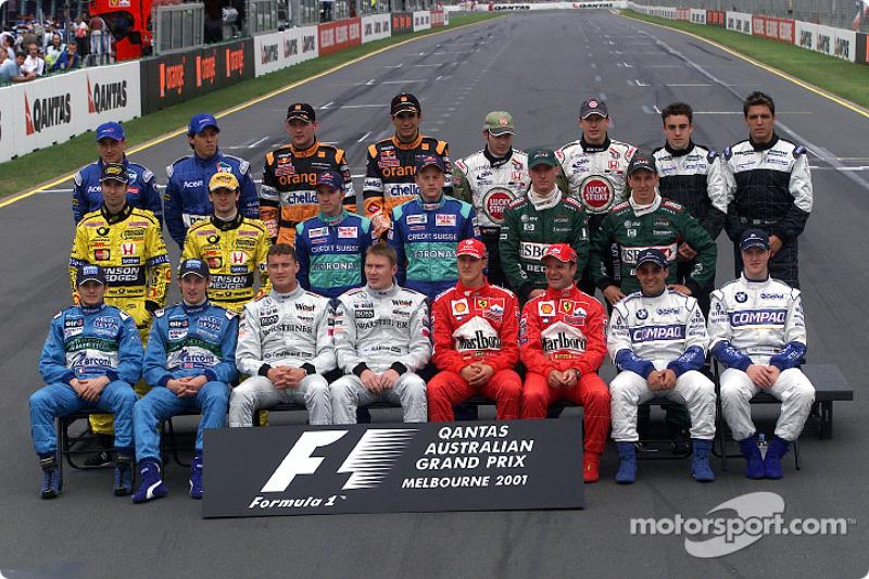 Пилоты Формулы 1 сезона-2001