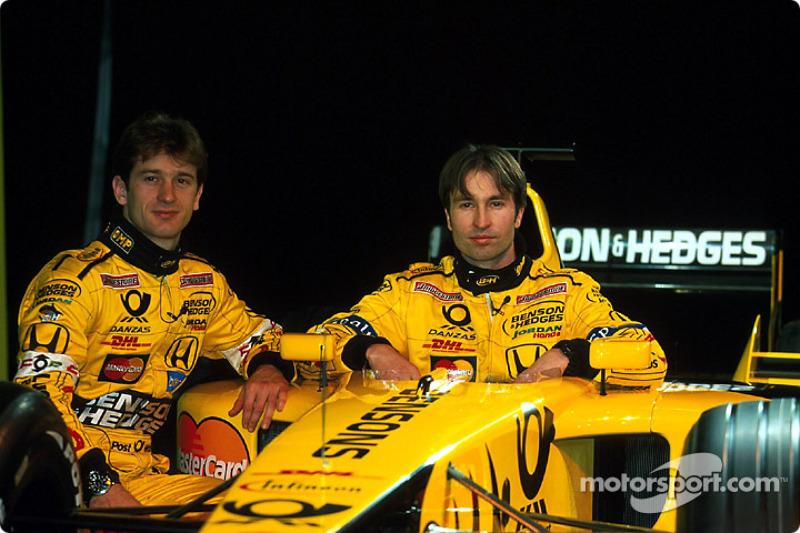 Jarno Trulli et Heinz-Harald Frentzen
