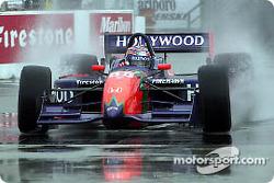 Tony Kanaan in the rain