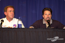 CART Medical Director Steve Olvey and Michael Andretti