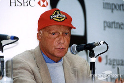 Jaguar Racing and HSBC renew sponsorship: Niki Lauda