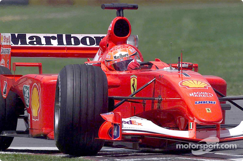 2001 Kanada GP - Ferrari F2001