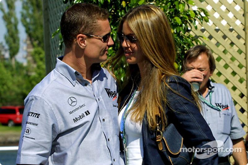 David Coulthard et sa petite amie
