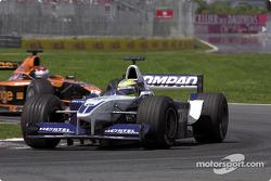 Ralf Schumacher and Jos Verstappen