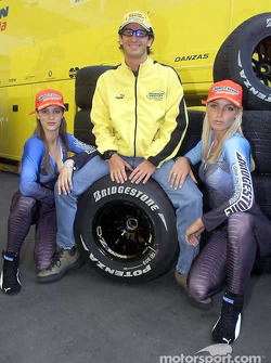 Jarno Trulli also in charming company