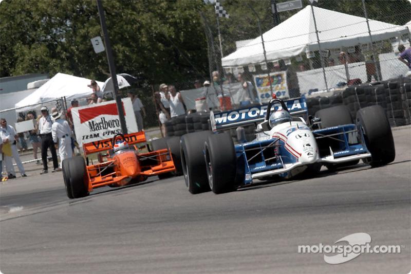 Michael Andretti and Jimmy Vasser