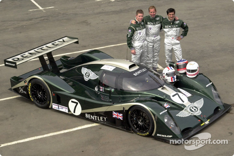 team bentley at 24 hours of le mans - le mans photos