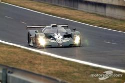 Bentley braking into Esses