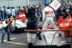 Audi #1 on its way to the parc ferme