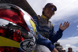 Seiji Ara preparing for the start